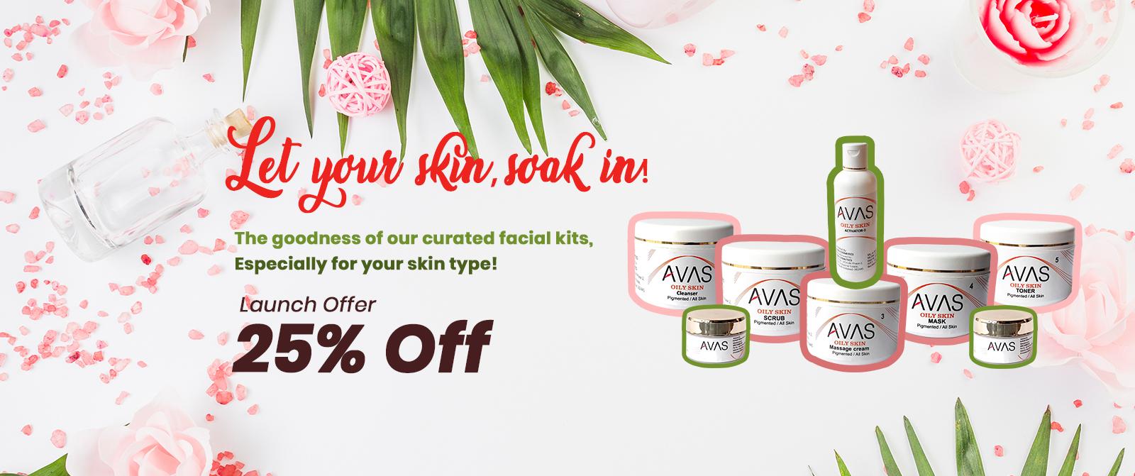 Oily Skin Facial Kit